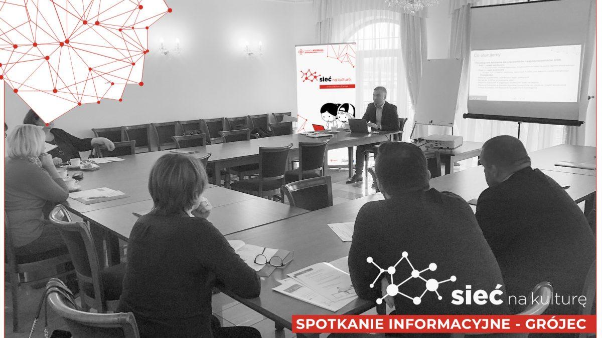 zdjęcie ze spotkania informacyjnego w Grójcu
