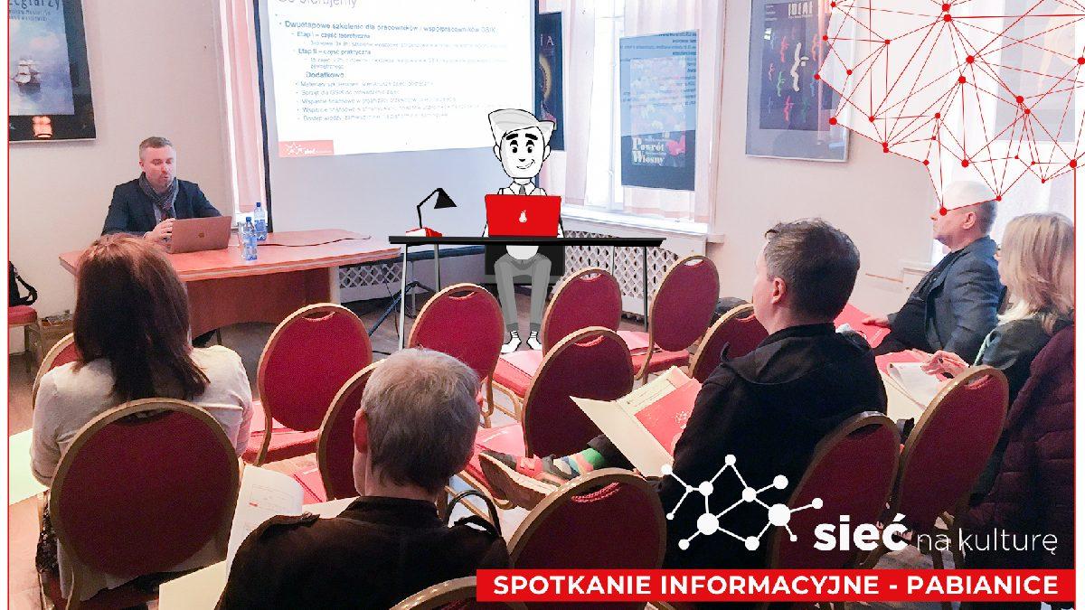 zdjęcie ze spotkania informacyjnego w Pabianicach
