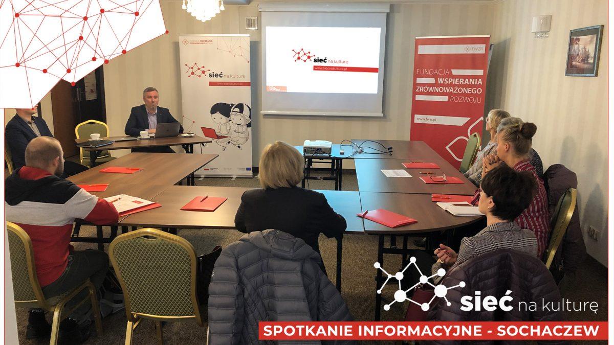 zdjęcie ze spotkania informacyjnego w Sochaczewie