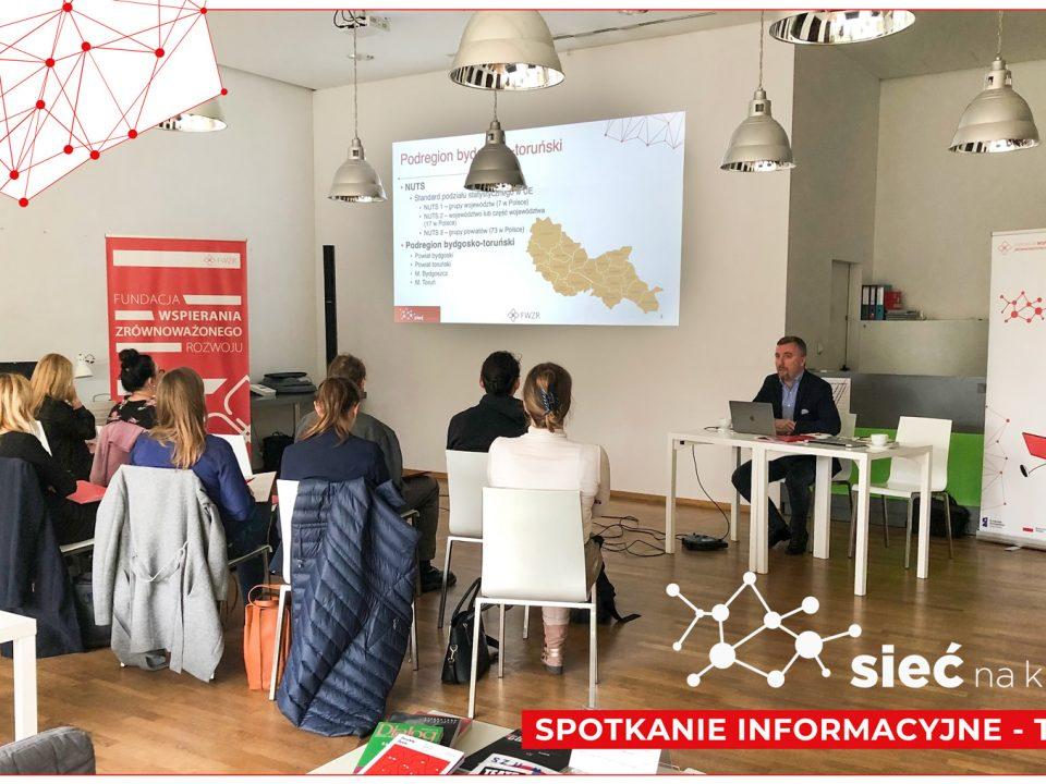 zdjęcie ze spotkania informacyjnego w Toruniu